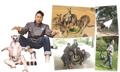 """南京的红山动物园自然也不甘落后,推出了呆萌""""第一季""""."""