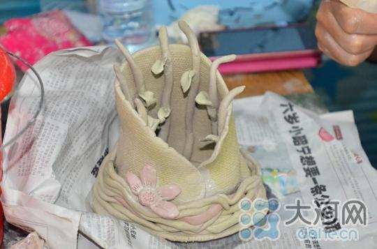 幼儿园陶艺作品图片