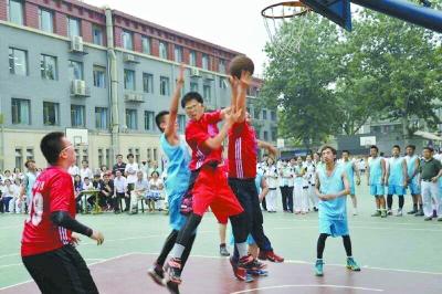 育才初中篮球赛打出凝聚力|冠军队|中锋