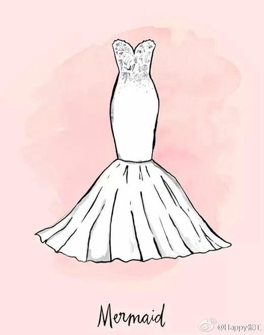 偷偷告诉你 如何穿婚纱让自己完美图片