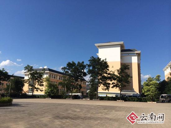 会泽县茚旺高级中学-会泽县教育脱贫显成效图片