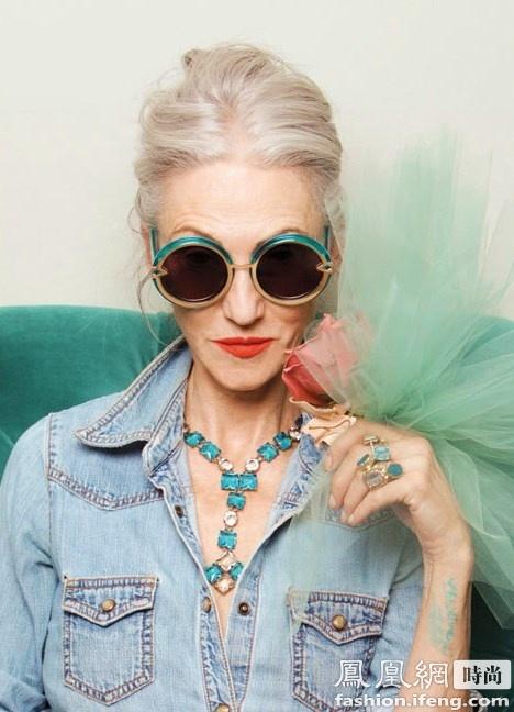 【图】67岁模特揭秘:不整容也能年轻10岁