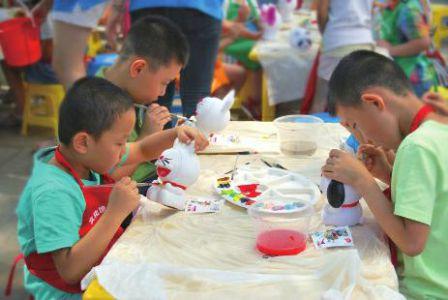 暑假家长神木免费美术书法v家长受欢迎|视频|孩福利林青霞图片