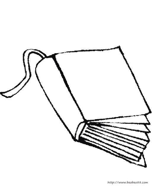 书本简笔画