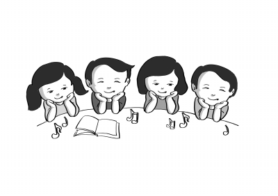 让小朋友爱音乐喜阅读,有没有好办法