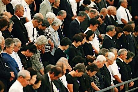 追悼仪式现场。