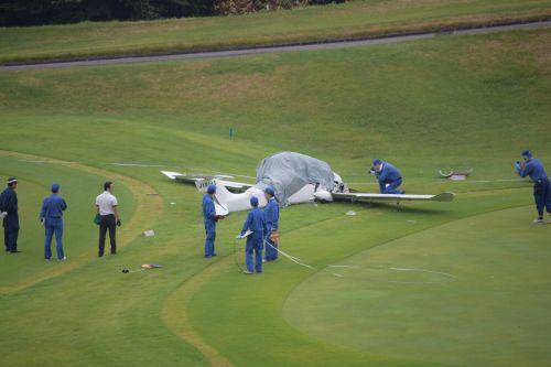 日本茨城县一架超轻型飞机坠毁 已确认两人死亡