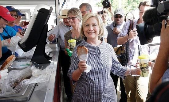 美国人爱吃串:品种繁多 猪排蛋糕都能串着吃