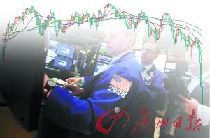 近期道琼斯指数K线图。美股资料图片。 (CFP供图)