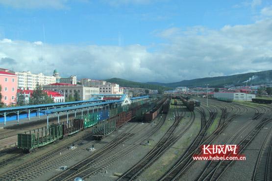 绥芬河火车站的今天。长城网 刘振山 摄