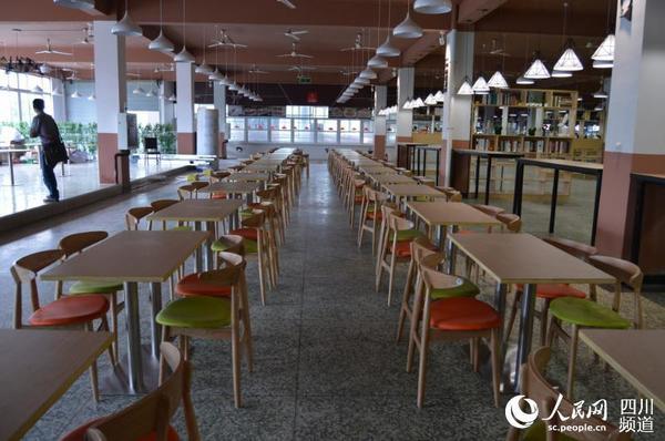 学生餐厅装修效果图