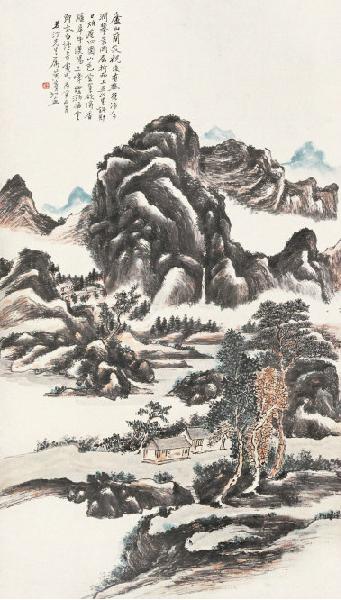 黄宾虹国画作品欣赏