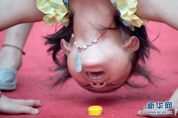 小孩下腰的方法图解