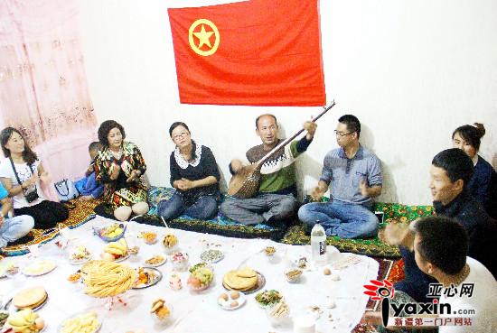 若羌县铁干里克镇团旗下的古尔邦节|干部|村支
