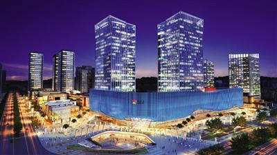 常州红星国际广场购物公园还开建吗-20万方爱琴海购物公园封顶