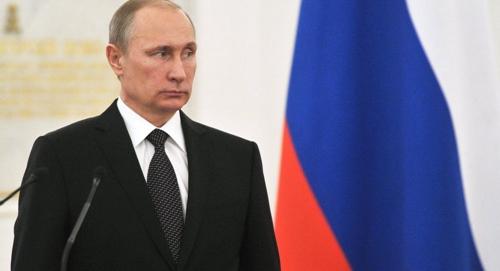 俄总统普京。