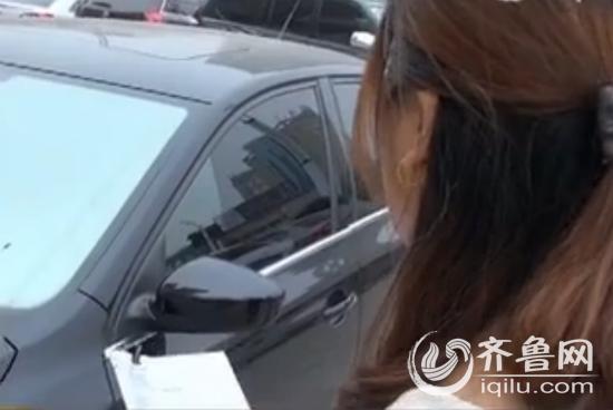 经营者称,汽车租赁行业面临着极大的风险,租出去的车可能会开不回来。(视频截图)