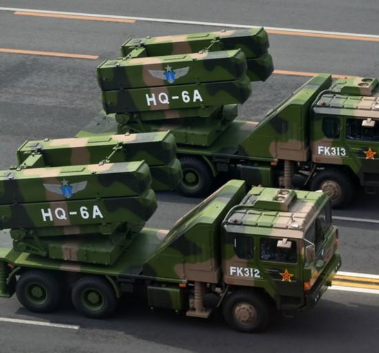 红旗6防空导弹