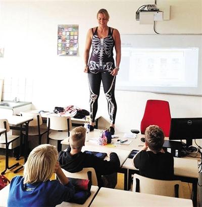 课堂讲解身体