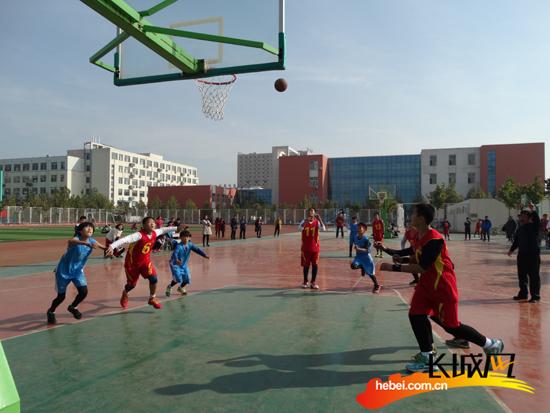 沧州市运河区成功举办第十二届中小学生篮球赛