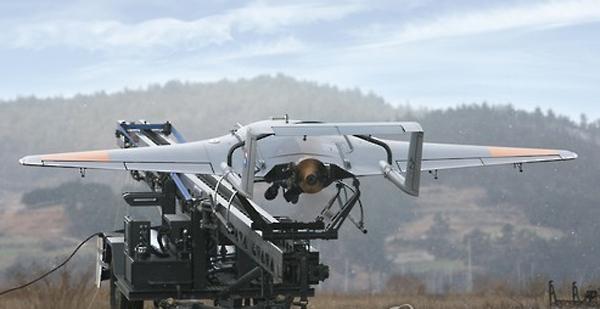 """韩国开发的""""无人飞机"""",这些飞机将于明年部署在前线部队(网页截图)"""