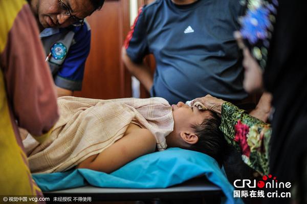 来西亚200名男孩参加集体割礼仪式