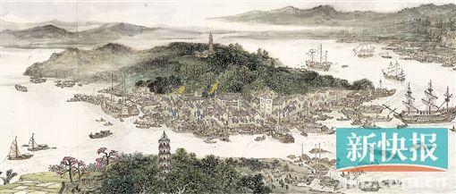 广州版 清明上河图 你去看了吗图片