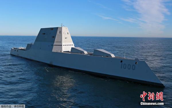 美国新型驱逐舰'朱姆沃尔特'号。【图片转载】 - kkk20088 - kkk20088的博客