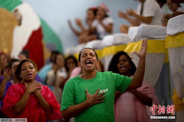 巴西女子监狱举行圣诞装饰比赛