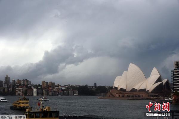 澳大利亚悉尼遭遇暴风雨天气|袭击|悉尼