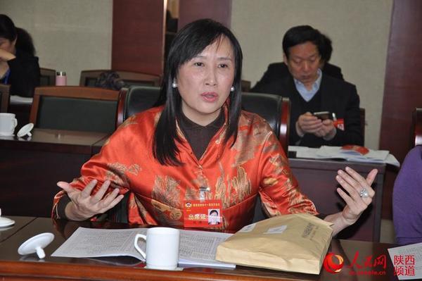 政协委员积极开展讨论 为三个陕西建言献策(