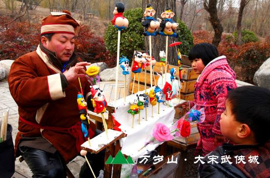 最为传统的庙会体验感受千年宋风宋韵