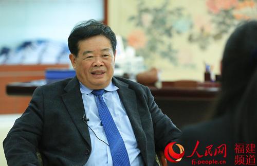全国政协委员、福耀集团董事长曹德旺。资料图。