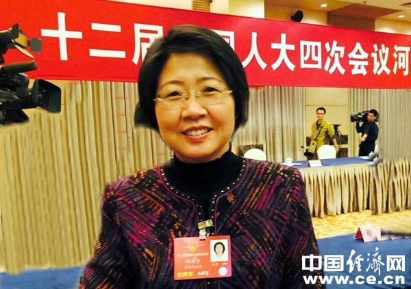 赵海燕代表:将个体工商户流转税起征点改为免