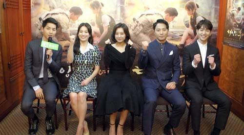 《太阳的后裔》现象级 韩娱平台品牌效应开启