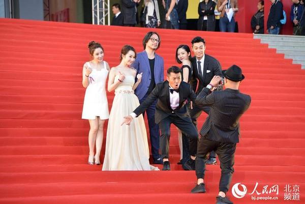 帅哥节开幕式红毯:钟汉良李敏镐北影出炉粉表情表情包送你给个图图片