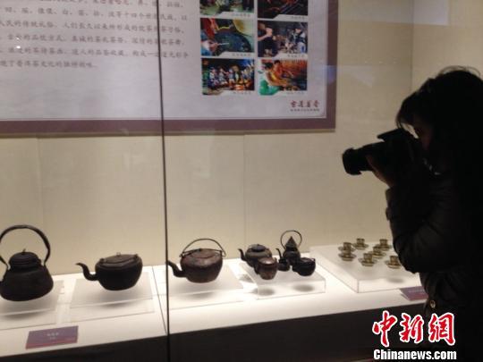 普洱茶马文化风情展在京开幕 茶始祖等展品亮相