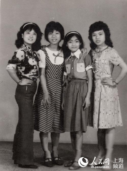 学生(20世纪70年代)-从照片中追寻服饰变迁 东华大学举办城市记