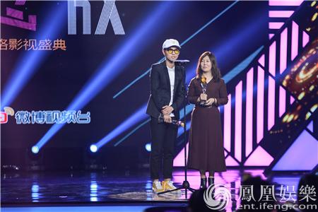 【星娱TV】刘循子墨出席金骨朵颁奖礼:不忘初心 继续前行