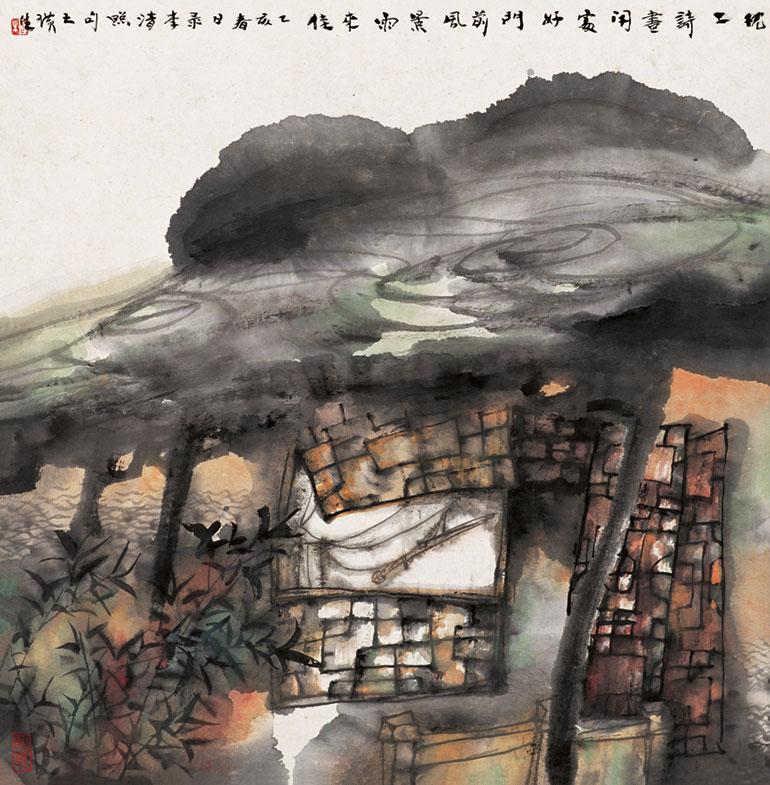 后时代的笔墨雅兴 王璜生艺术作品赏析