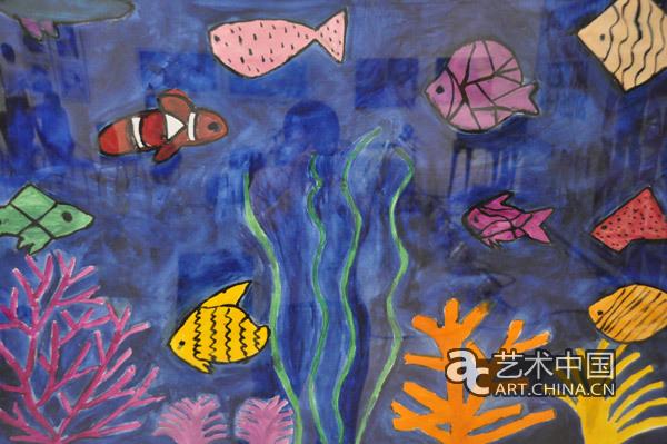 孤独症儿童绘画作品