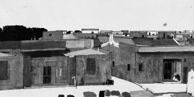 乌镇线描手绘图