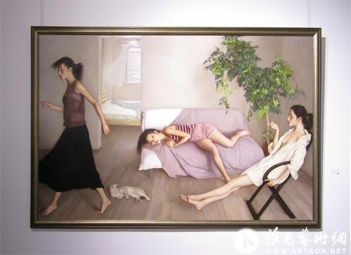 李贵君写实人体油画:经典的诱惑