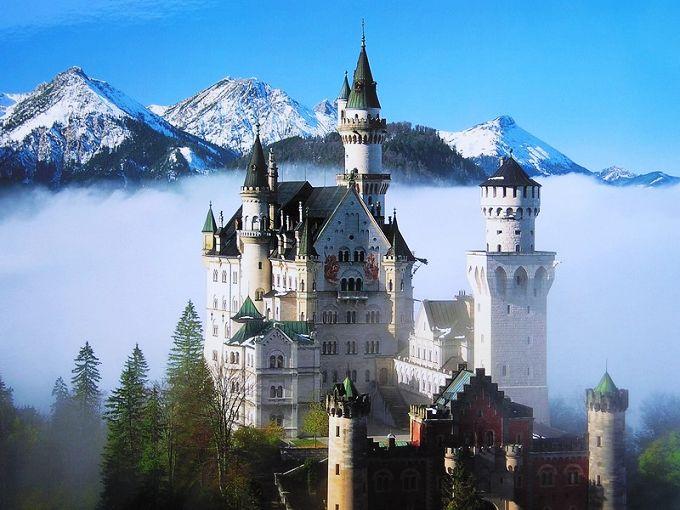 如梦如幻 盘点欧洲十大最美城堡