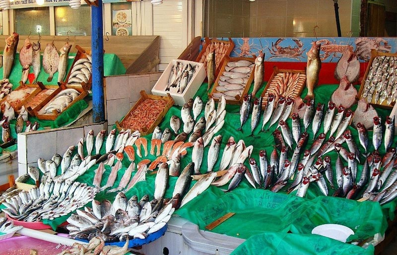 全球最有特点海鲜鱼市 搜罗各地生猛海鲜