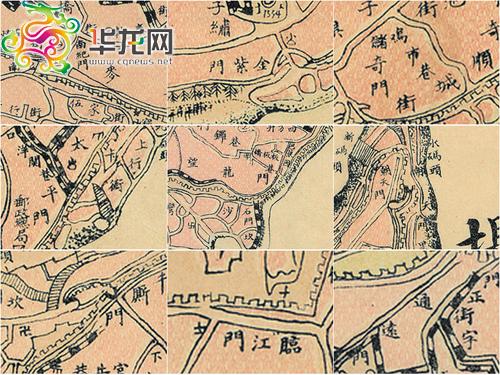 中国之旧城,一般筑有城墙,都辟有东,南,西,                    像图片