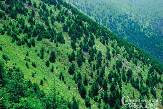 盛夏,小五台山是很多户外人士的喜爱地