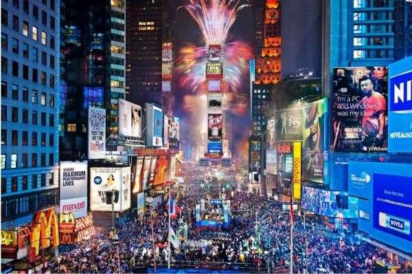 纽约时代广场百万人跨年 为何没有出现任何事故
