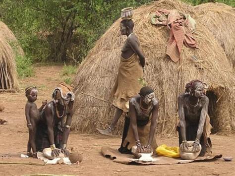 巴西亞馬遜神秘女性部落:掠外族男子為夫(組圖