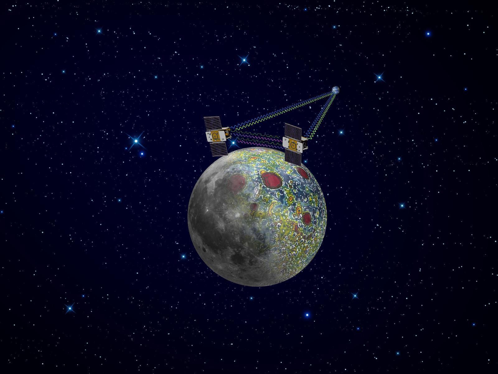 月球上的美国飞机
